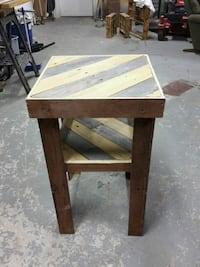 brown wooden table with chair Walker, 70785