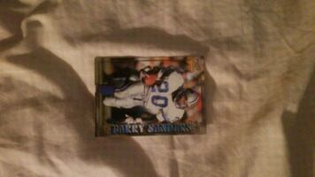 Barry Sanders card Pacific individual