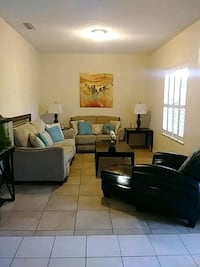 sofa set with coffee table lamps Palm Bay, 32909