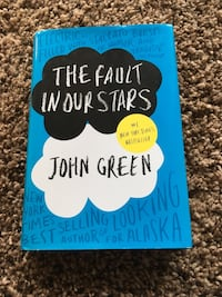 The Fault In Our Stars by John Green New Hardback Indianapolis, 46260