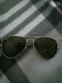 Gold-colored framed aviator sunglasses Las Vegas, 89102