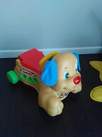 baby's yellow and blue ride on toy Shelby charter Township, 48317