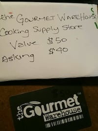 The gourmet warehouse giftcard Vancouver, V6B 2H9