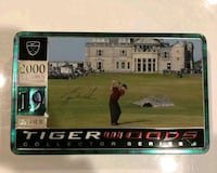 Tiger Woods 129th Open Collectors Tin & 12 Golf Ba Portland, 97220