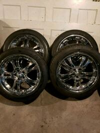 (5x100) 17's American racing Wheels /Tires Hartford, 06114