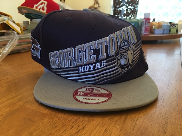 Used New Era Georgetown Hoyas SnapBack Cap for sale in Knoxville - letgo 1d13568f983