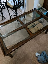 Wood and Glass table  Fenton, 48430