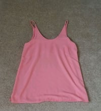 Pink Silky Summer Tank Top London, N6A