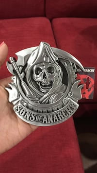 Brand new authentic Sons of Anarchy Belt Buckle SOA Mississauga, L5R 3V4