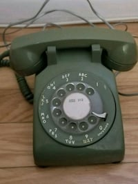 Western bell rotary phone ... avacado color Lockport, 60441