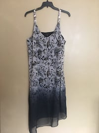 women's gray and black floral sleeveless dress Oxon Hill, 20745