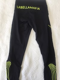 NEW la Bella Mafia workout leggings Toronto, M6P