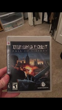 ps3 turning point fall of liberty Carol Stream, 60188