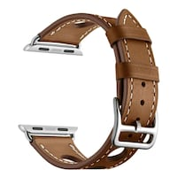 brown and white leather belt Maryland