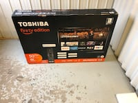 "Toshiba 50"" fire tv, 4k model# 50LF621C19 Toronto, M3H 3M7"