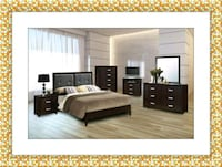 11pc bedroom set free mattress and delivery Ashburn, 20147