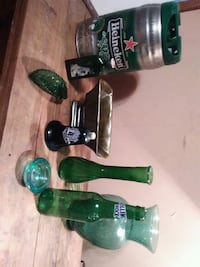 green glass vases Counce, 38326