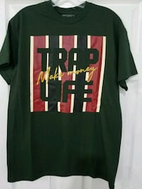 Men Trap Life Custom Tee  Duncanville, 75137