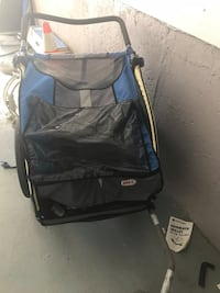Bike trailer in working condition! Best for toddlers in winter and rainy season  Brampton, L6X 2T7