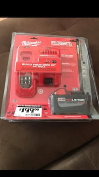 red and black Milwaukee battery charger Garden Grove, 92843