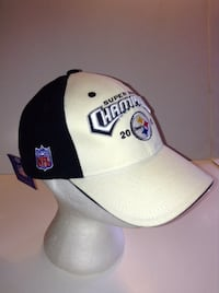 Super Bowl 2005 Pittsburgh Steelers Reebok Cap NWT  London