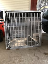 """Used Stainless Steel pet cage. 30"""" x 30"""" x 28"""" Danville, 17821"""