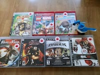Ps3 game lot with manuals! Mint! Brampton, L6Y 4T6