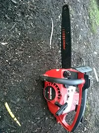 red and black Homelite chainsaw Barberton, 44203