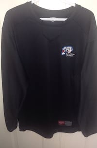 Rawlings Slo-Pitch Ontario Long Sleeve Fleece Lined Dugout Pullover Size Large
