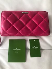 Kate Spade fuchsia leather wallet Calgary, T3H