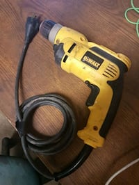yellow and black DeWalt corded power drill Sherwood Park, T8A 6G3