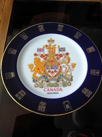 Collect plate from Canada.!! Tewksbury, 01876