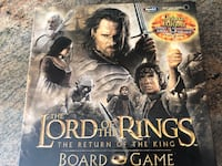 Lord of the Rings- The Return of the King Complete Board Game Pickering, L1V 4X8