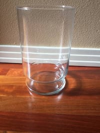 Four Clear Glass Vases Tigard, 97223