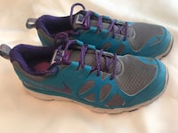 Nike running shoes gray blue purple women's size 10 worn a few times Bealeton, 22712