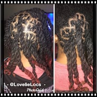 Retwist with double strand twist Las Vegas