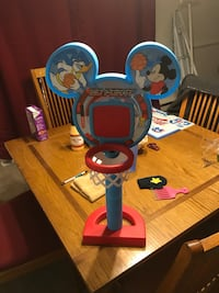 blue and red Mickey Mouse toy basketball hoop Richmond, 23224