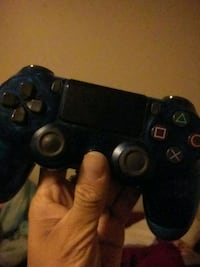 black Sony PS4 wireless controller Mission, 57555