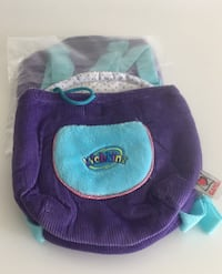 2 Webkinz back-pack style carriers for Small plush toys. Adjustable straps Markham, L3T 7P7