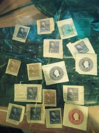 Vintage postage stamps Hampstead, 21074