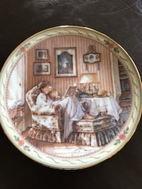 Trish Romance Collectors plate Vaughan, L6A 1J3
