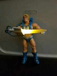 Loose MOTU figure He-Man Lights up  Hamilton
