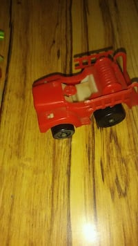 red and black plastic toy car Mason, 48854
