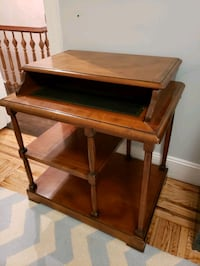 Desk - solid cherry wood