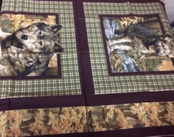 20+ Quilt Panel Fabric For Sale - Animals and More
