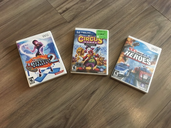 3 x Wii Games for $5 each 7b235760-9f34-42d3-a514-a6b03d75a6b1