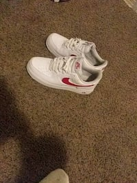 Airforces red and white  size 9 in good shape Lubbock, 79413