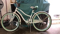 White and green cruiser bicycle Lancaster, 93535