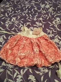 Kids dress 2t wore once