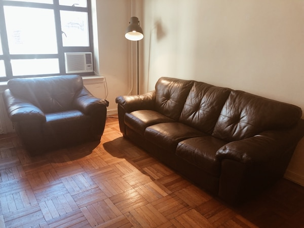 Incredible Brown Leather Couch Matching Oversized Chair Set Or Single Uwap Interior Chair Design Uwaporg